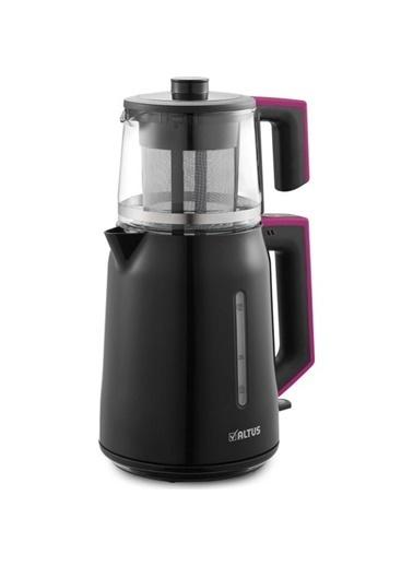 Altus AL 794 P Pembe 1650 Watt Cam Demlikli Çay Makinesi Renkli